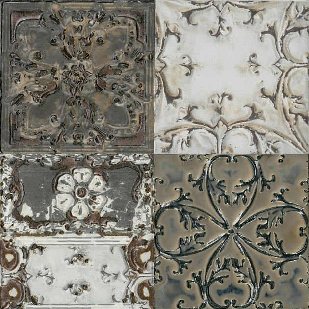 Декор Decor Society (Set 8 Pz) 150x150